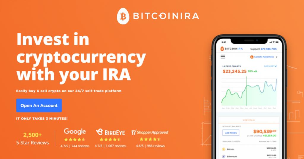 Bitcoin IRA Invest in Crypto IRA