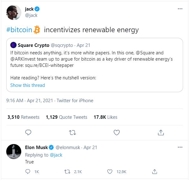 Bitcoin Jack Elon Musk