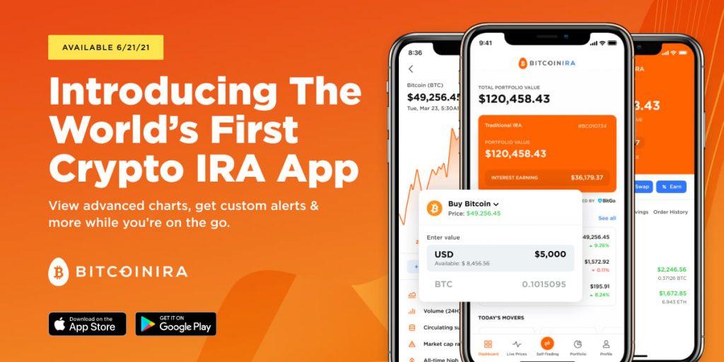 Bitcoin IRA App